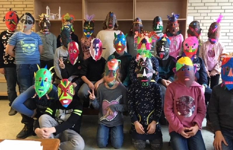 Fantasievolle Masken