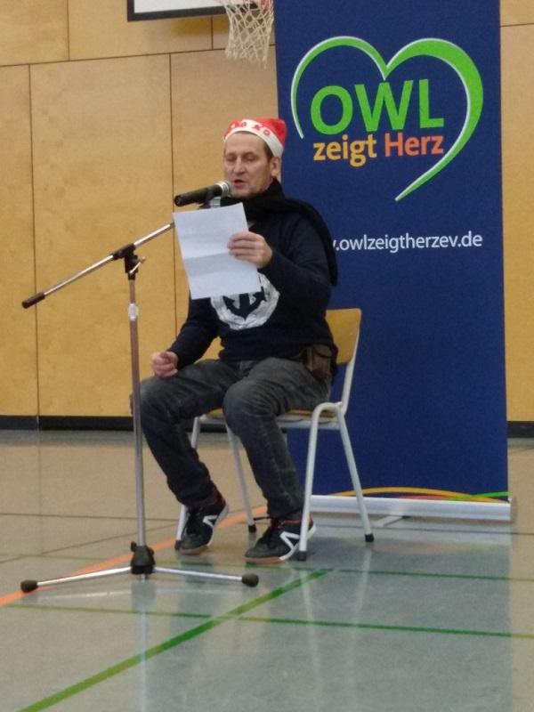 Ingo Naujoks liest Weihnachtsgeschichten